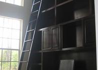 brahier residence custom bookcase