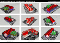 Philadelphia Mixed Use Massing Models
