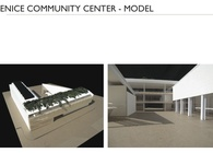 Venice Community Center - Physical Model