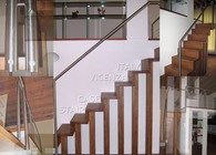 Staircase and loft handrail