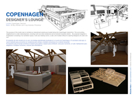 COPENHAGEN DESIGNERS LOUNGE (3D Max)
