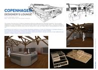 COPENHAGEN DESIGNER'S LOUNGE (3D Max)