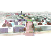 La Marañosa Eco-city masterplan