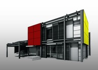 Plus Energy Prefab House