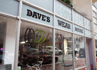 Daves Wear House is a retail space in Manhattan located in Chinatown 