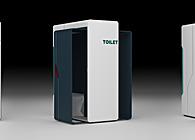 SPACE EFFICIENCY - Unisex Toilet Design