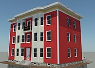 2009 6th Steet Apartment (fire damage reconstruction)
