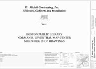 Boston Public Library Map Room