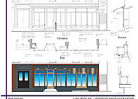 Cava Wine Bar - Storefront Elevations & Details