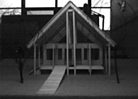 1996 Girl Scout Comfort Station prototype for Huron Valley Girl Scout Council