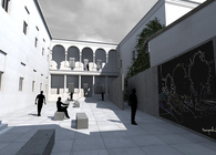 Courtyards of Polimi in Mantova
