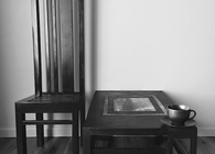 Tall Chair + Table
