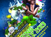 Spring Break Poster for Lincoln University
