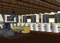 Commercial Renovation Banquet Room