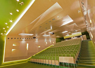 Auditoriums A, B, C at Silesian University of Technology in Gliwice