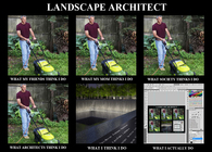 What I Do: Landscape Architect: Poster