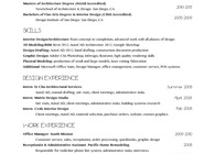 RESUME & REFERENCES