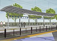 South Sacramento Light Rail Corridor Phase 2 - 3 Stations