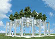 The Hanging Shade Tree Pavilion