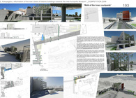 Competition for the facades reformation rear view of the historic buildings at 17 and 19, Areopagitou