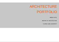 Architecture Portfolio