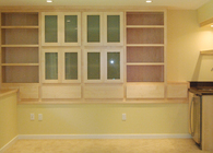 Lewis Media Room Built-ins