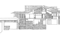Taliesin Section HABS Drawing