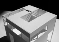 Cube + Stairs + Garden