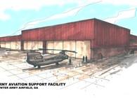 2003 Hunter Army Airfield Aviation Hangar