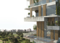 SKYCONDOS competition in Lima, Per. Honourable Mention out of 384 proposals