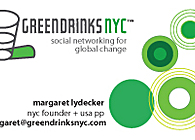 Green Drinks NYC Graphics