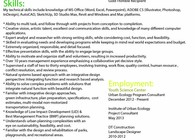 Resume and Sample of Work