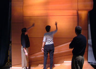 Alice Tully Hall - Design Development, Mockup, Veneer Selection