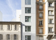 Planchette sheltered housing - AZC - Paris, France