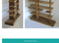 2004 Freestanding Shelves