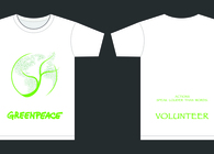 T-Shirt Design Competition for GREENPEACE