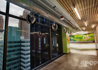 Quicken Loans office features Kinema pendant