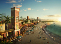 Rendering Gallery of Tourism and Public Design Projects