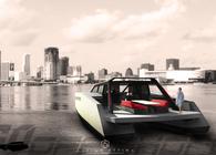 60 - 30 Off Shore motor catamaran concept design.
