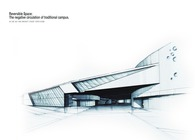 Da Lian Jiao Tong University Student Center Design