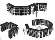 041188 Modular Bookshelf
