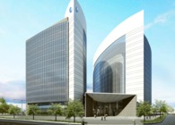 Headquarter of Islamic Bank in Abu Dhabi