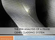 Frank Gehry Cladding System FEM Analysis