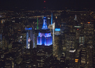 Empire State Building  Tower Lighting Replacement