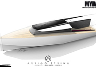 Y SEA RACER 30 - Motor boat design concept for MYDA 2013