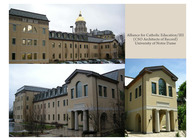 Carole Sandner Hall, University of Notre Dame