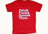 Zaha & Frank & Daniel & Thom.