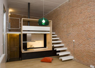 Loft Andrs Borrego. Madrid. Spain