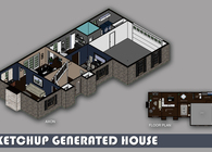 SketchUP Generated House