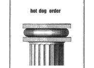 >>>hot dog, roller skates, skull - architectural orders